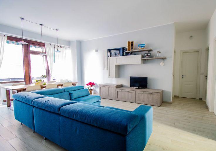 Soggiorno blu ~ Soggiorno ciesse blu interior design ciesse architettura