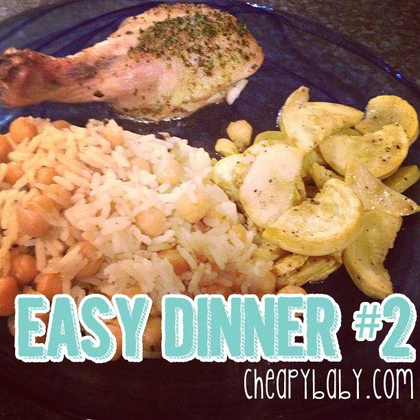 Easy Dinner Idea #2 from CheapyBaby.com