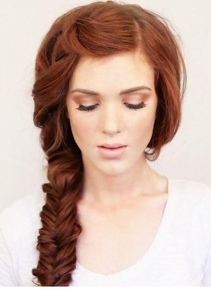 Peinados elegantes con trenzas largas ~ Manoslindas.com