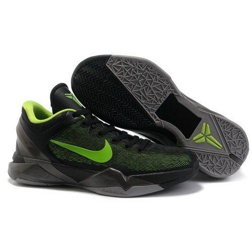 High-Quality Nike Zoom Kobe 7 VII System Supreme Black/Volt-Cool Grey