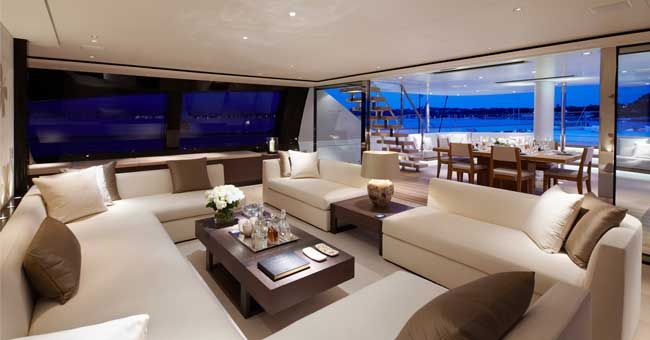 Interiors Of Luxury Yachts The Interior Sy Twizzle