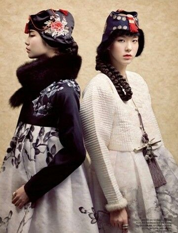 Haper's BAZAAR Korea Feb 2012.   Styling by Agent de Bettie