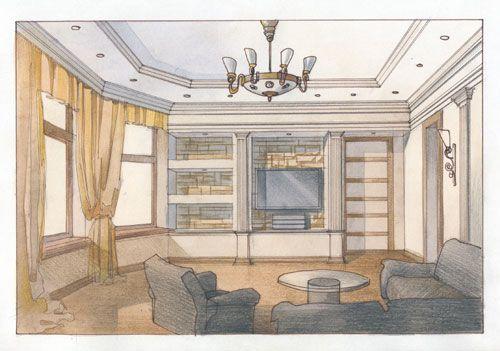 план интерьера комнаты - Google 검색