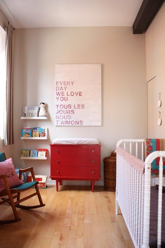 Alice's Simple, Simply Warm Nursery My Room | Apartment Therapy