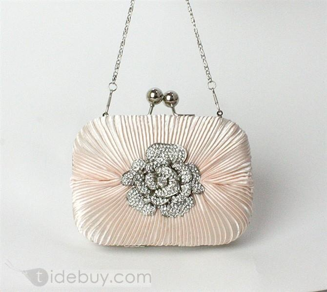 Cool Silk Cloth Evening Handbags/Wedding Handbags Available for More Colors  US$29.69