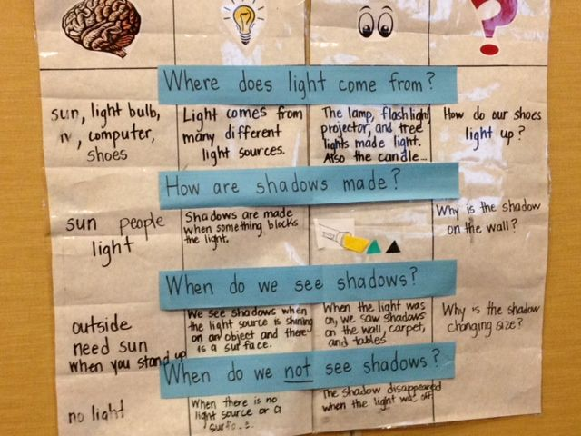 Reflections From Within: Teaching Students CER (Claim, Evidence, Reasoning) I Know, I Think, I see, I wonder