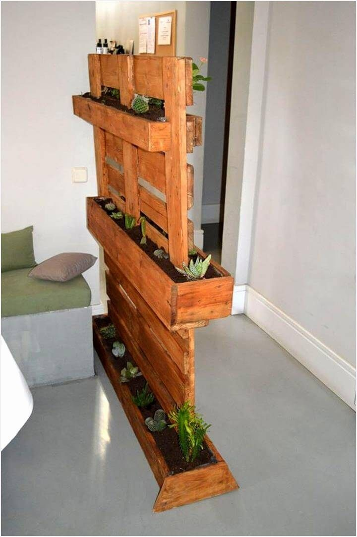 40 Diy Easy Vertical Pallet Planters Ideas Pallet 400 x 300