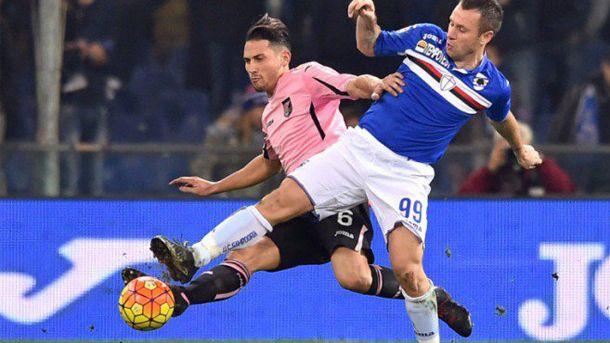 #SampdoriaPalermo 2-0, il 2015 si chiude con una sconfitta