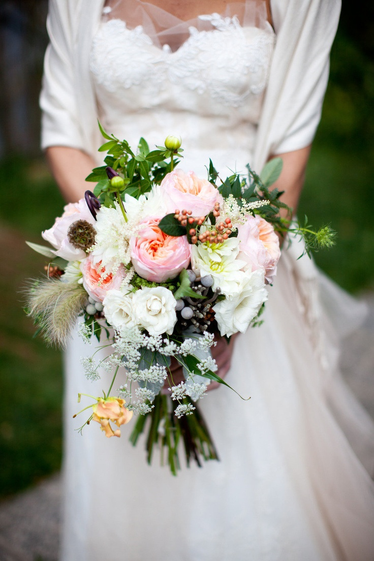 Magnificent Bouquet! Salvage One Wedding on SMP- Illinois ~ http://su.pr/2mHOjq / Photography by shanewelch.com, Floral Design by pollenfloraldesign.com: Bridal Bouquets, Floral Design, Wedding Bouquets, Wedding Photo, Bouquets Ideas, Gardens Rose, Pollenfloraldesign Com, Sweet Dresses, The Dresses