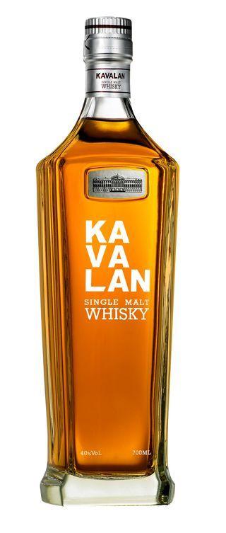 Kavalan single malt whisky from Taiwan