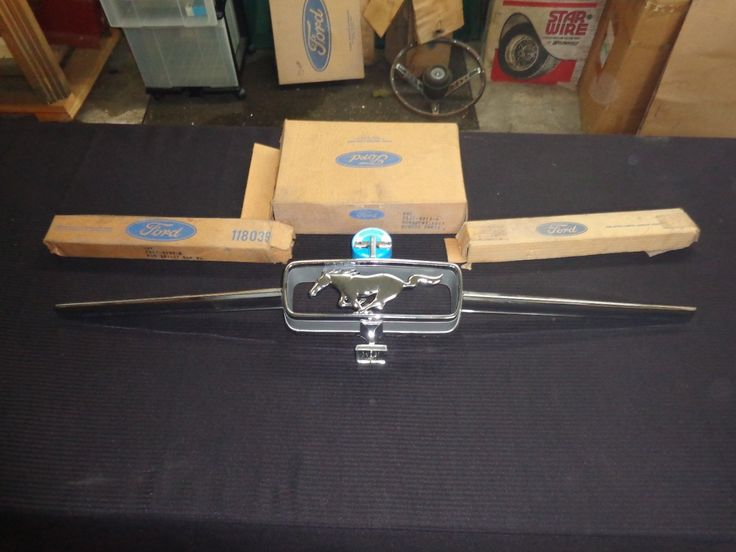 1965 FORD NOS MUSTANG GRILLE CORRAL, HORSE AND BARS 1964 1/2   eBay