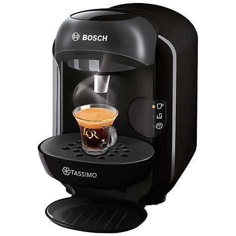 Buy Tassimo Vivy II Coffee Machine by Bosch, Black Online at johnlewis.com