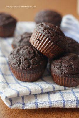"""Moje Dietetyczne Fanaberie: Muffiny """"bez"""" czyli co można zrobić z fasoli"""
