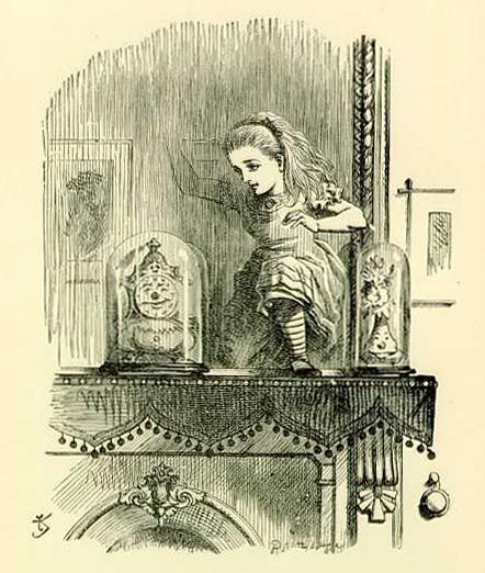 Джон Тенниел. Иллюстрация к 1-й главе «Алисы в Зазеркалье». 1871
