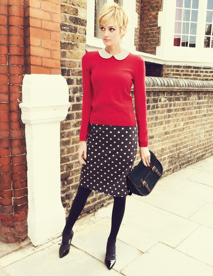 Printed A-Line Skirt, Boden