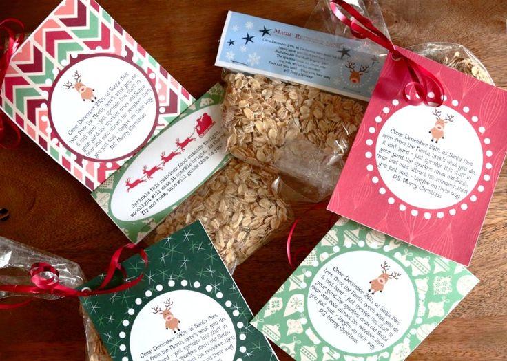 Magic Reindeer Dust :: Reindeer Food with free printables