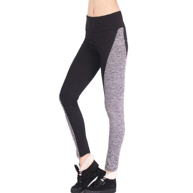 2017 Fashion Women Leggings Ladies Sexy High Elastic Waist Patchwork Skinny Fitness Legging Activewear Casual Leggins Trousers