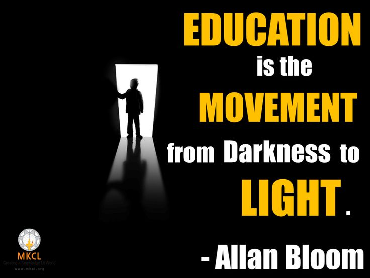 Probably the most apt description of what Education is.