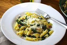 Savoir Faire: Receta de pasta sin gluten con ajo, aceite de oliva y col rizada