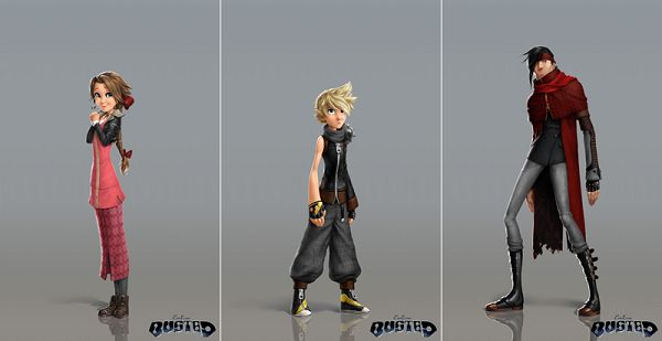 'Final Fantasy VII' Characters Get A Disney Makeover