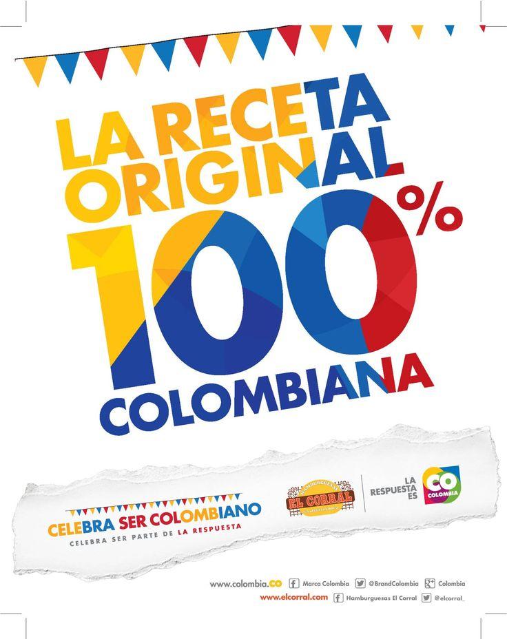 Hamburguesas El Corral #CelebraSerCOlombiano