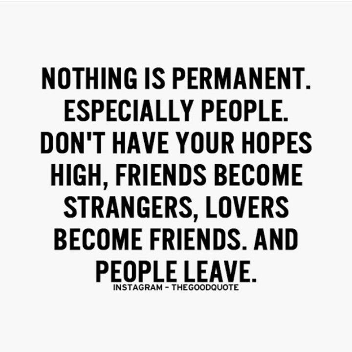 Quotes On Nothing Is Permanent Bsctv