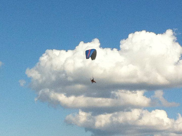 Someone flying over the competition!