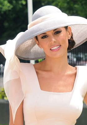 Danielle Linekar - Royal Ascot 2010. Hat by Rachel Trevor-Morgan Millinery.