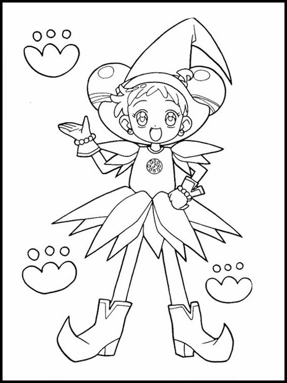 Doremi 34 Printable Coloring Pages For Kids Coloring Pages Coloring Books Magical Doremi