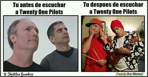 Memes de Twenty Øne Pilots. #humor # Humor # amreading # books # wattpad