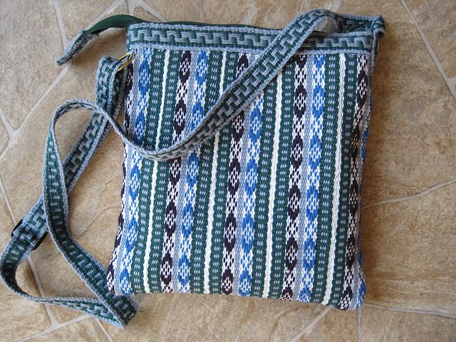 Ravelry: FortCollinsKnits' Z- Inkle Bag