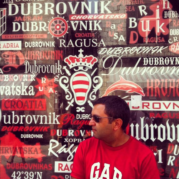 In red... Dubrovnik