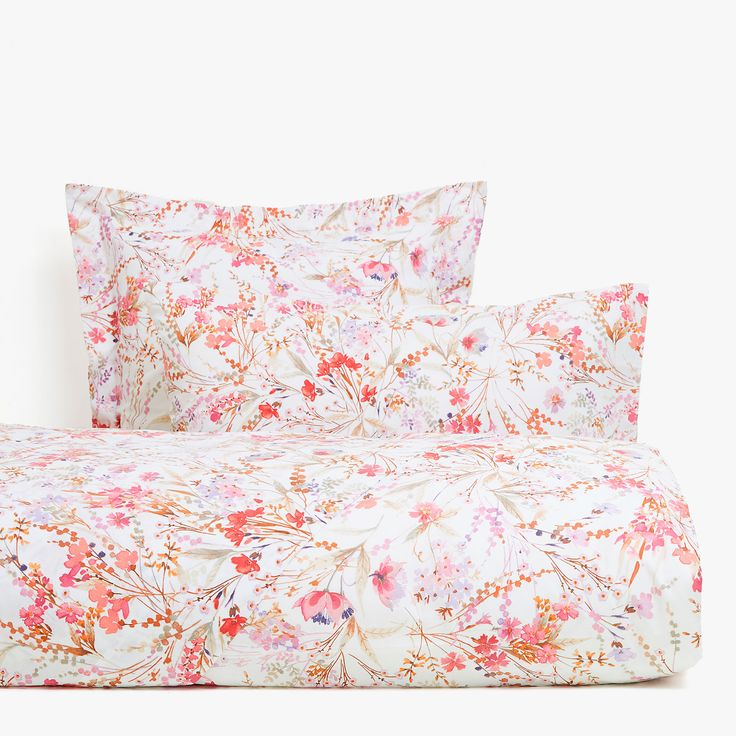 Image 1 of the product Multicoloured floral print duvet cover