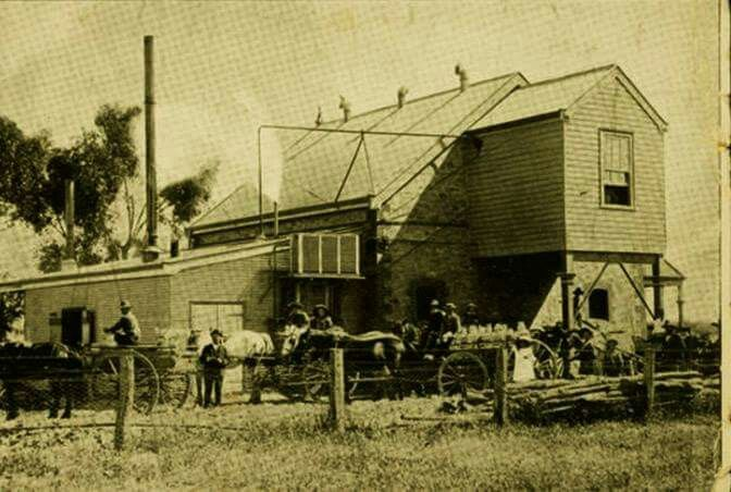 Butter factory at Wilmington,in the Mid-North Region of South Australia in 1898. •State Library of South Australia• 🌹