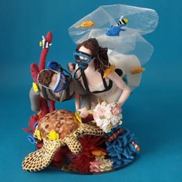 photo: Sings Bride Dance Cake Dive