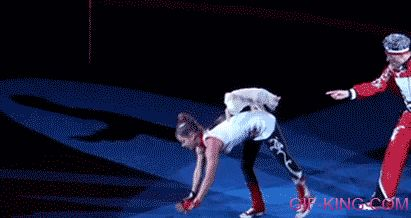 Funny Russian Circus Cat>>Cat: AHH WTF STOP MOVING I DONT WANNA FALL YOUR GONNA CRUSHH MEEEEE