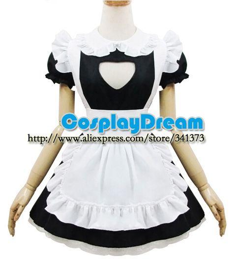 Aliexpress.com: Compre Fantasia Lolita empregada cosplay empregada Lolita bonito vestido desempenho vestido de confiança cc vestido fornecedores em CosplayDream Store