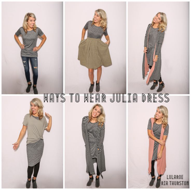 LuLaRoe Julia Dress! Ways to wear the LuLaRoe Julia!   Join our Group for styling videos & HUGE LuLaRoe Inventory: www.LuLaRoeRiaThurston.com
