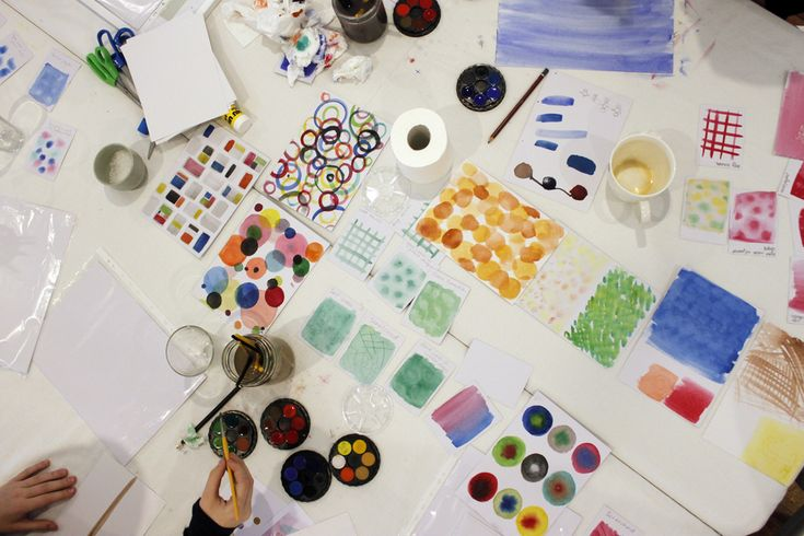Water colour and collage workshop - The Corner Store Gallery, Orange NSW