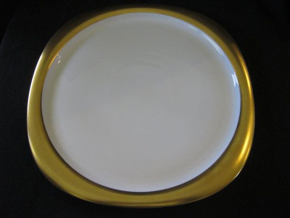 MIDCENTURY dinner plate by ROSENTHAL studio line by snpace on Etsy