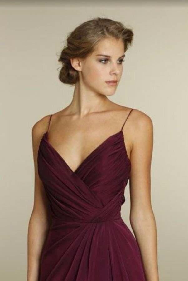 1244e6c5de9 Jim Hjelm by JLM Couture Occasions JH5228 Womens Merlot Bridesmaid Dress  Gown 2 Couture Occasions JLM