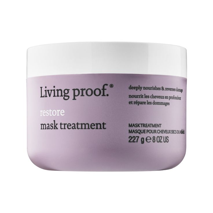 Shop Living Proof's Restore Mask Treatment at Sephora. It repairs dry, damaged hair, leaving hair visibly healthier, stronger, and shinier.
