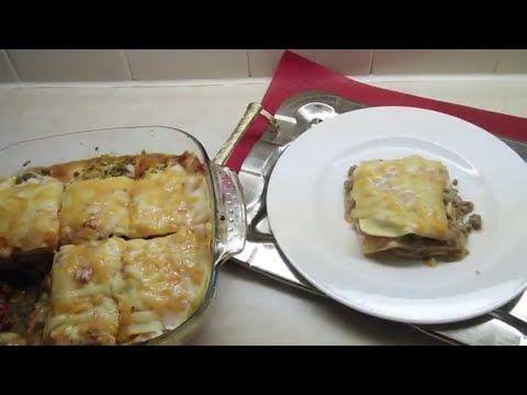 Cheesy Lamb Lasagna Recipe