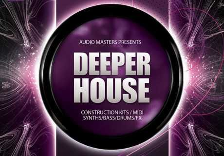 Deeper House WAV AiFF APPLE LOOPS DiSCOVER | FEBRUARY 11 2016 | 1.16 GB 'Deeper House' delivers a collection of incredible deep analogue sounds & emot