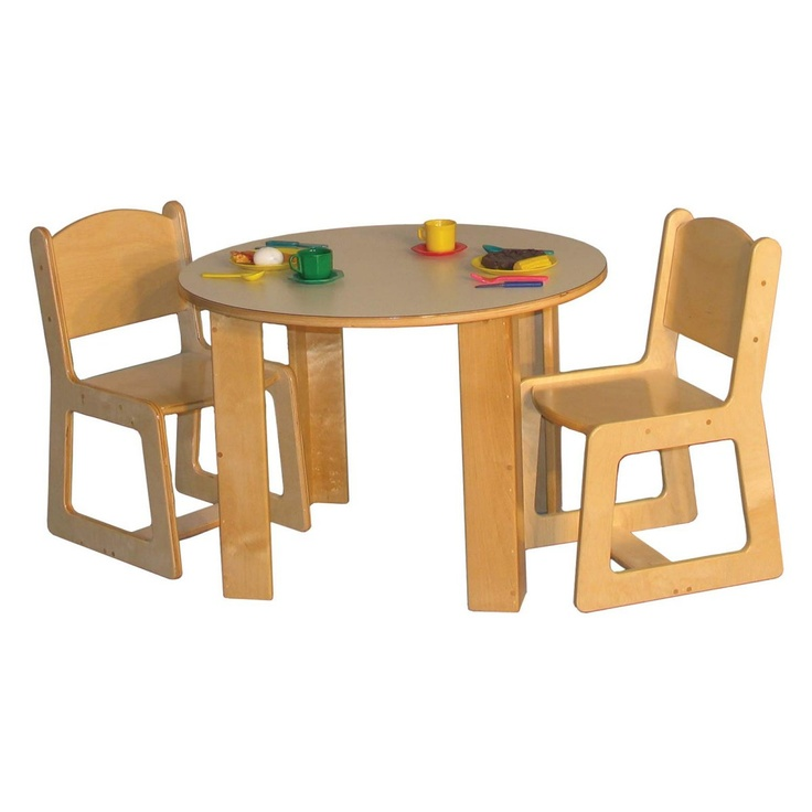 Strictly for Kids Preferred Mainstream Preschool Round Housekeeping Table