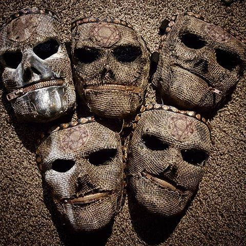 New members mask all day everyday.   #Slipknot #Mask #Art