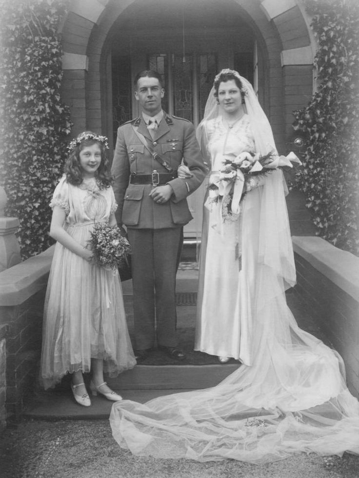 Joan.... Joan and her dapper groom in his soldier's uniform is Jean. I know little of what happened to them after their wedding some time in 1943, but I hope this was just the beginning of a long and happy life together.