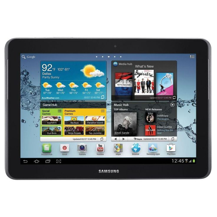 Samsung Galaxy Tab Lets You Take Technology in Your Hands Samsung 10.1-Inch Galaxy Tab will bring you closer to the action and let you access thousands of movies, TV shows and games on a... More Details