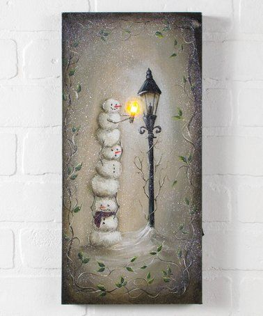 Loving this Lighted This Little Light of Mine Wrapped Canvas on #zulily! #zulilyfinds