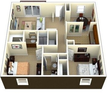 17 Best 1000 images about 800 sq ft on Pinterest House plans Small